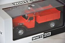 Whitebox WHT223 - International Harvester KB 7 rouge / noir - 1948  1/43