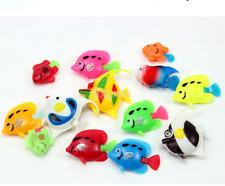 10pcs Plastic Small Fake Tropical Fish for Aquarium Decoration UK