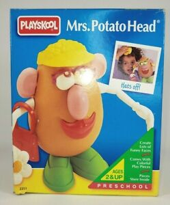Vintage 1996 Playskool Mrs. Potato Head  NEW in Unopened Box  Classic Toy