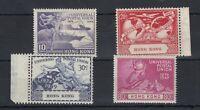 Hong Kong 1949 UPU Set SG173/176 MH JK1537