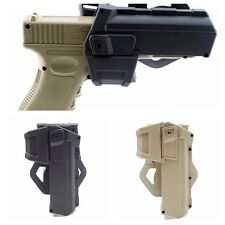 Right Hand Tactical Movable Pistol Holsters for G17 G18 G19 G34 Glock Series