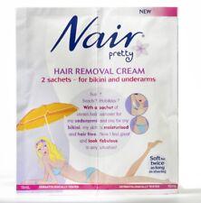 Nair Hair Removal Cream 2 Sachets (15ml each) - For Bikini And Underarms