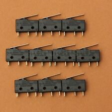 10X Micro Roller Lever Arm Normally Open Close Limit Switch KW11-3Z 5A 250V AC