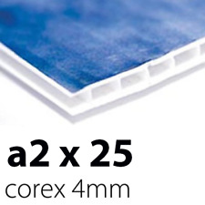 25 x Correx Sign Boards | 4mm A2 | Printed UV Full Colour
