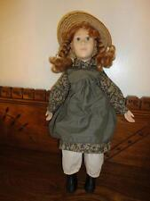 Anne of Green Gables Doll 60/61 R D MacDonald Richardson 19 inch 1989