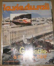 La vie du rail N°1983 1985 Train Chemin de fer Vercors Satolas La Mure GRENOBLE