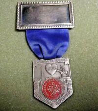 Lutheran Church 1966 Kansas City 3nd Biennial Convention Lapel Pin Medal Badge