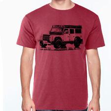 LAND ROVER DEFENDER Off Road SOFT Cotton T-Shirt S-XXXL Multi Colors