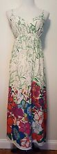 Old Navy Super Colorful Floral India Long Dress Sz M
