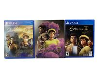 Shenmue 1 2 +3  I II III Limited Edition Steelbook (PlayStation 4, PS4) Lot