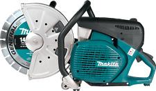 "Makita EK7651H 14"" 4 Stroke Power Concrete Cutter w/ Maint. & Water Supply Kits"