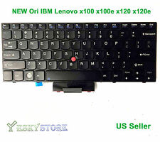 NEW ORI IBM Lenovo thinkpad X100 X100E X120E US keyboard 45N2971 60Y9331 60Y9363