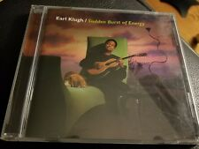 Earl Klugh - Sudden burst of energy - CD 100% tested, Disc in exc. cond.