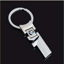 BMW 1 SERIES STAINLESS STEEL KEY RING CHAIN FOB KEYRING 116i 118i M135i 125i