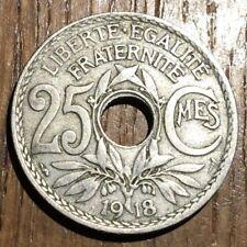 PIECE DE 25 CENTIMES LINDAUER 1918 (406)