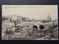 WW1 Belgium Ruines de DIXMUDE 1914-18 Le pont et le canal d'Handzaeme