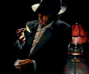 LL265 Wall decor Fabian Perez oil painting Canvas art Print Unframed 40x50cm