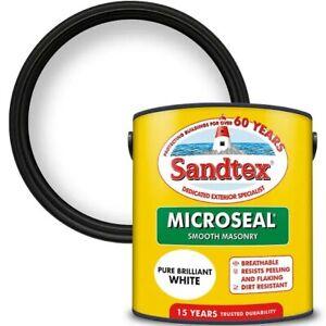 White Sandtex Masonary Paint 2.5L