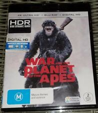 War For The Planet Of The Apes 4K + Blu-ray (2 Disc Set) Brand New & Sealed