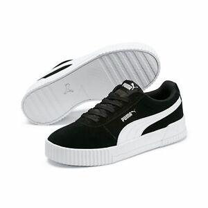 Puma CARINA SD Damen Streetstyle Sneaker Clubwear 369864 Schwarz Weiß