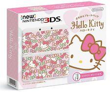 New Nintendo 3DS Kisekae plate pack Hello Kitty Japan