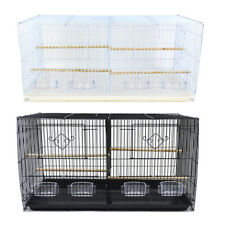 Breeding Bird Cage for Finches Canaries Budgies Smal Birds Flight Cage w Divider