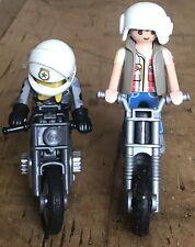 Playmobile 5118 Moto Heavy Metal Hells Angels Motocross Trial Bike Riders