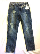 Seven7 High Rise Distressed Skinny Ankle Jeans 4 8 12 14 16 $69 NWT MS11018