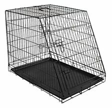 Kerbl Cage de avec 4 portes pour Chien Noir 92 x 63 74 cm