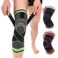 3D Weaving Knee Brace Pad Protector Compression Breathable Running Support HOT