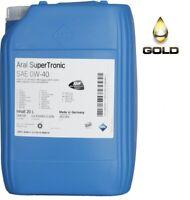 0W-40 ARAL Super Tronic Motoröl / 1 x 20 Liter