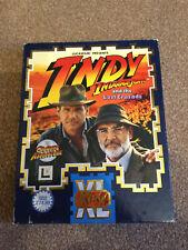 Indiana Jones et la dernière croisade le graphique Adventure Amiga Big Box