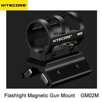 NITECORE GM02M Quick Detach Magnetic Barrel Gun Mount for 1'' Body Flashlights