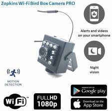 Zopkins Wireless Bird Nest Box Camera PRO WiFi Camera Kit. Watch On Phone Tablet