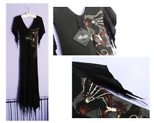 Lip Service Spellbound Dragon Slayer Long Dress Size Small Gothic Goth Witch