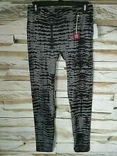 Poof Junior Legging Animal Print Black/Grey M/L Free 2-3 Day Ship New With Tags