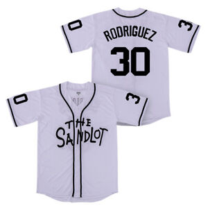 Benny The Jet Rodriguez #30 The Sandlot Movie Baseball Jersey Medium