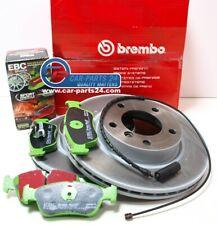 Brembo Bremsscheiben 286x22mm + EBC Greenstuff + Warnkontakt BMW E46 Z4 E85