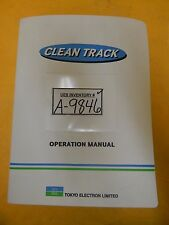 TEL Tokyo Electron OEM Operation Manual Set Clean Track Lithius Used
