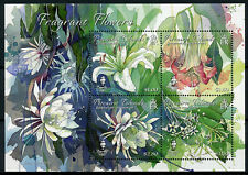 Pitcairn Islands 2019 MNH Fragrant Flowers Lilies Jasmine 4v M/S Nature Stamps