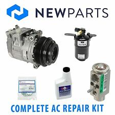 Mercedes W209 CLK320 98-02 Complete A/C Repair Kit w/ NEW Compressor & Clutch
