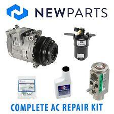 Mercedes W209 CLK320 98-02 Complete A/C Repair Kit With NEW Compressor & Clutch