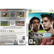 Pal version Microsoft Xbox 360 Pro Evolution Soccer 2008