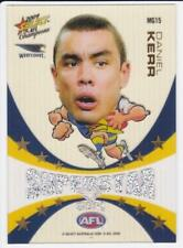 2009 Select Mascot Superstar Gem Card  - Daniel Kerr