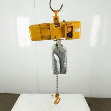 Harrington Ner003s Electric Chain Hoist 14 Ton 28 Lift 32fpm 208 230460v 3ph