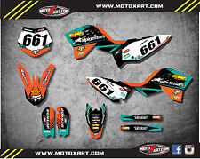 Full Custom Graphics Kit VITAL Style stickers Fits KTM 50 2009 - 2015 decals