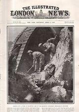 1918 London News April 6 - Jerusalem surrenders; Hong Kong Dam; Merckem bombing