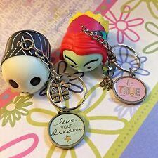 Handmade Tsum Tsum Key Chain Backpack Clip Jack Skellington Sally Nightshade Set