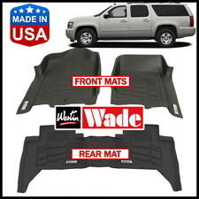 Westin Wade Sure-Fit Floor Mats Set for 2007-2014 Chevrolet Suburban 1500 2500