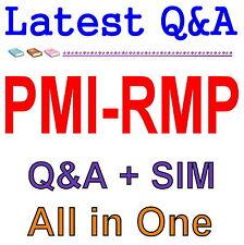 PMI Risk Management Professional PMI-RMP Exam Q&A PDF+SIM